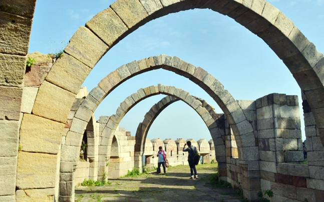 The Champaner-Pavagadh Archaeological Park, Gujarat. Picture courtesy: Wikimedia/Tanumoy Kumar Ghosh/Creative Commons