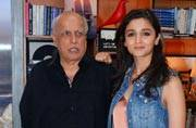 Meet the new BFFs in town: Mahesh Bhatt and Alia Bhatt shoot for this TV show