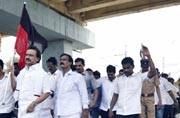 Tamil Nadu: Opposition parties' rail roko protest to press for Cauvery Board enters 2nd day