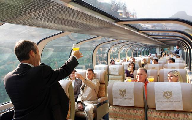 Rocky Mountaineer trains in Canada have glass top coaches. This picture is for representational purpose only. Picture courtesy: www.rockymountaineer.com