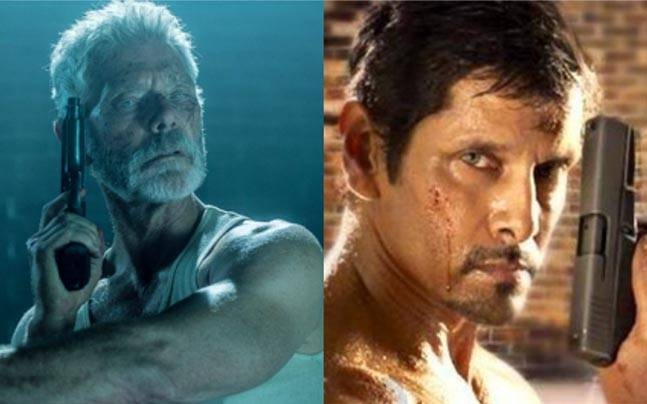 Vikram to star in the remake of Don't Breathe?