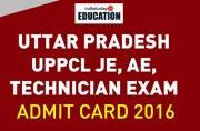 Uttar Pradesh UPPCL JE, AE, Technician exam 2016: Admit cards released, download now