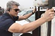 SEE PIC: Ajith Kumar looks dashing on the sets of Thala 57