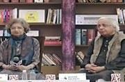 Mridula Garg and Ashok Vajpayee