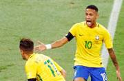 Brazil jump to second spot in latest FIFA rankings