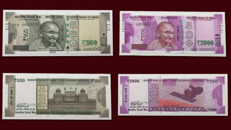 New Rs 500, Rs 2000 note