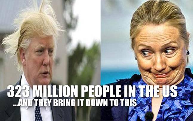Funny Donald Trump Hillary Clinton Memes : Donald vs hillary imgflip