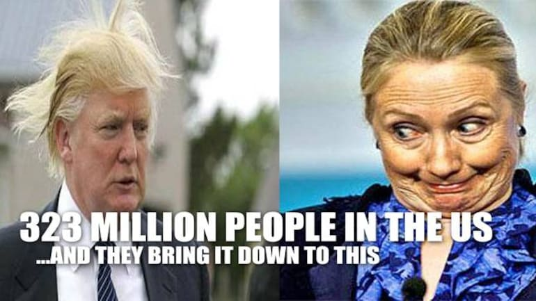In Today S Good Humour Best Round Up Of Hillary Clinton And Donald Trump Memes On Internet Fyi News