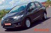 Honda makes dual front airbags standard on the Jazz