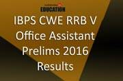 IBPS CWE RRB V Office Assistant prelims 2016: Results declared at ibps.in