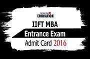 IIFT MBA Entrance Exam 2016 Admit Card out: Download now