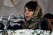 Deadly confrontation has triggered a humanitarian crisis in Kashmir: Mehbooba Mufti