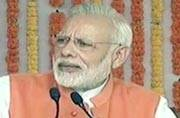 Here to fulfil Nehru's vision for country: Modi's dig at Congress in first rally post demonetisation