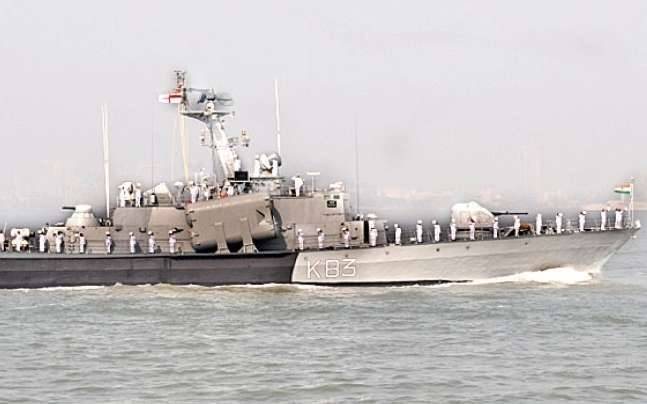 INS Nashak was moving in the harbour when its GT engines failed midway and it collided in the flow with the jetty and the front portion of the boat was damaged.