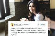 Never complain, never explain: Shilpa Shetty responds to Animal Farm fiasco