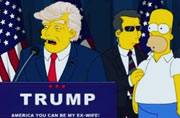 The Simpsons predicted Trump's presidency. Picture courtesy: Instagram/nickmon81