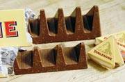 Toblerone fans really mind the gap in the new version of the chocolate