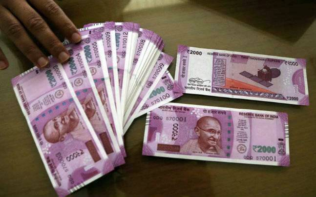 The new Rs 2000 notes