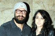 SEE PICS: Aamir Khan's daughter Ira joins dad for a screening of Dangal