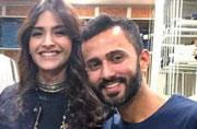 SEE PIC: Sonam Kapoor and rumoured boyfriend Anand Ahuja colour-coordinate their outfits