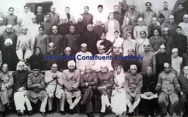 India's first Constituent Assembly