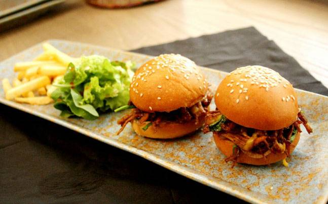 Ever tried a Pulled Kathal Slider? If not, you must.