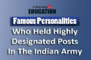Did you know these 10 famous personalities also held highly designated posts in the Indian Army?
