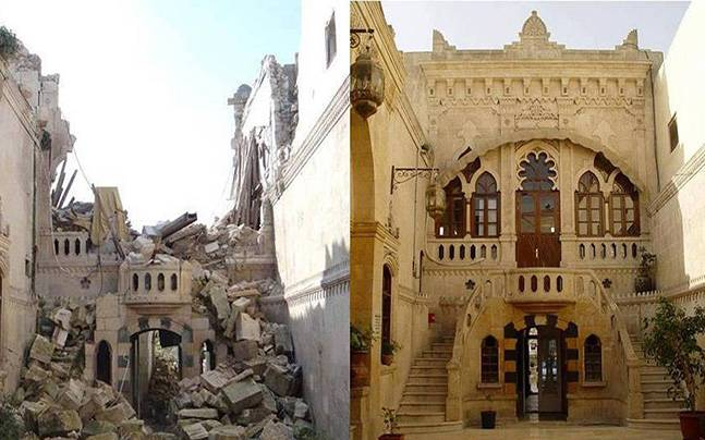 Before And After Images Show How Syrian Civil War Destroyed Its