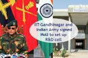 IIT-Gandhinagar and Indian Army sign MoU to set up R&D cell