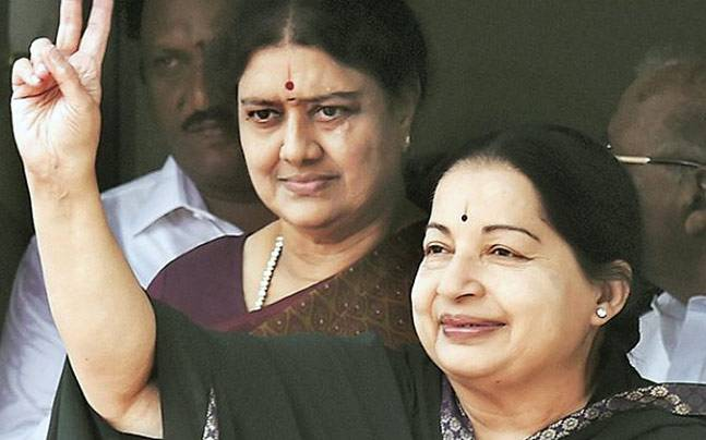 Jayalalithaa and Sasikala