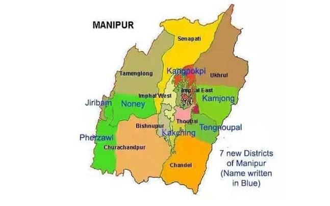 7 new districts formed in Manipur amid opposition by Nagas | IndiaToday