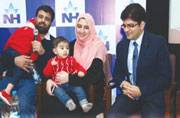 8-month-old Pakistani boy becomes youngest bone marrow donor in India