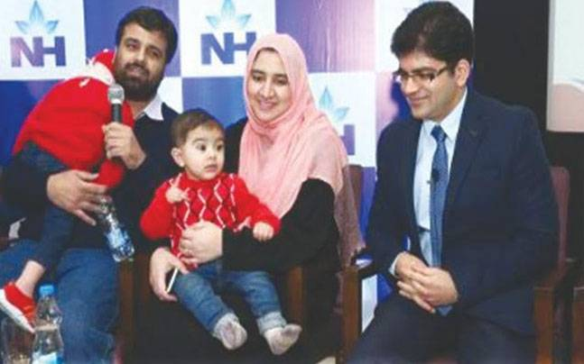 8-month-old Pakistani boy becomes youngest bone marrow donor in