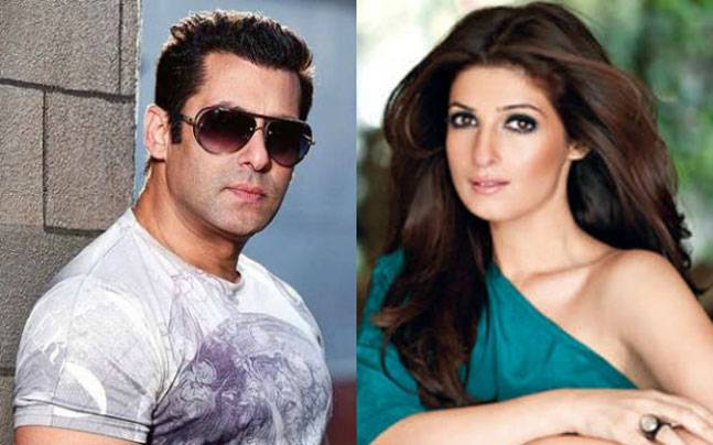 Image result for twinkle khanna and salman