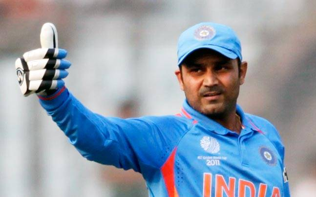 I'm my own favourite, says Virender Sehwag - Sports News