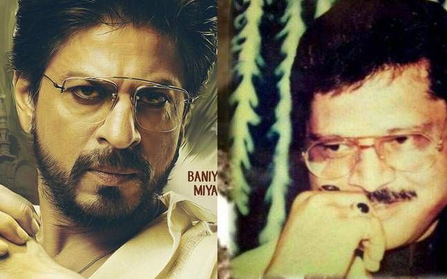 Shah Rukh Khan in Raees poster (L) and Abdul Latif