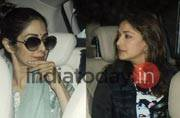 SEE PICS: When Sridevi and Madhuri bumped into each other at the airport