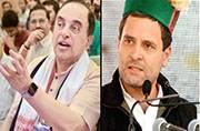 BJP MP Subramanian Swamy takes on Rahul Gandhi for Sahara 'link'