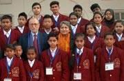 Delhi L-G Anil Baijal felicitates National Bravery Award winners