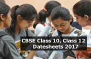 CBSE Class 10, Class 12 Datesheets 2017: To be out soon at cbse.nic.in