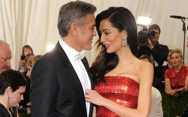 George Clooney and Amal Expecting Twins