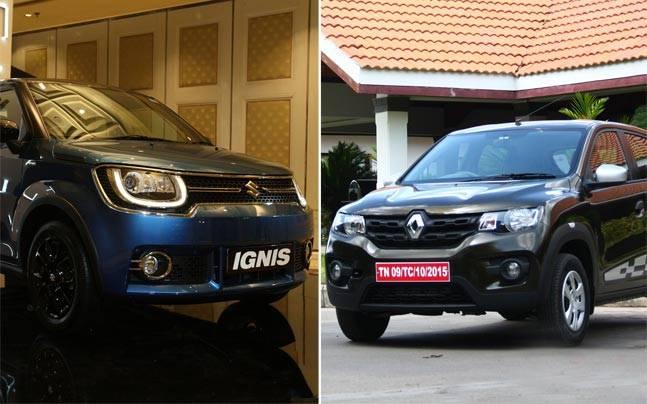 Maruti Suzuki Ignis Vs Renault Kwid Auto News