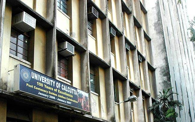 In picture, University of Calcutta ( Image source- CU official website)