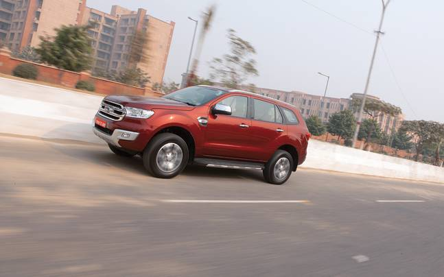 Ford increases price of the Endeavour silently by up to Rs