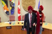 Canada dons Punjab: Watch mayor of the city learn Bhangra and how to tie Sikh turban