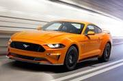 Ford gives the Mustang a minor update