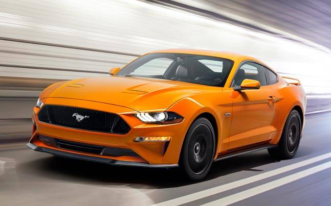 Ford MustangFord Had Just Launched The New Mustang Last Year And The Muscle  Car Has Received