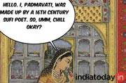 Padmavati is not real. Why are you angry?