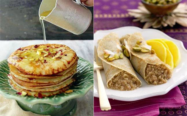 From malpua to patishapta, these traditional Indian pancakes are perfect for your sweet tooth. Picture courtesy: Pinterest/Archana's Kitchen/culture: the word on cheese