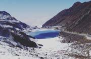 Not just North India, it is snowing in Sikkim too!
